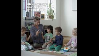 Oticon Opn Play™ let kids be kids