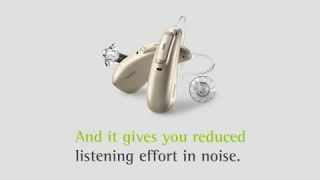 Phonak Audéo Marvel: Reduced listening effort in noise