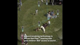 How your child can get 360º access to sound with Oticon Opn Play™